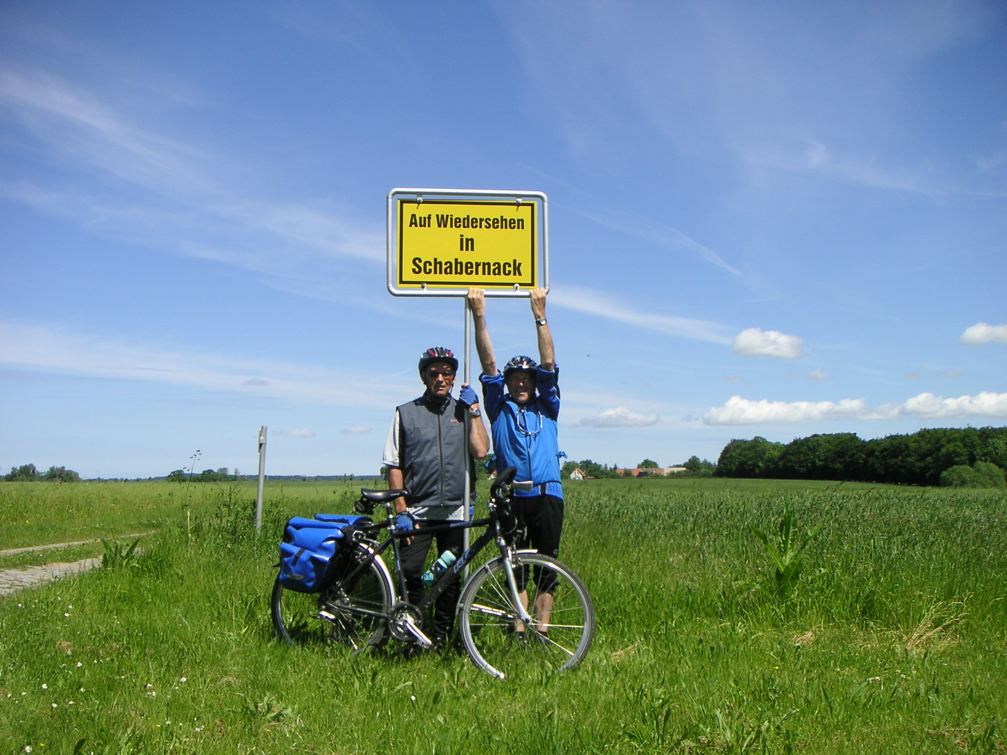 Fahrradweg Rhein